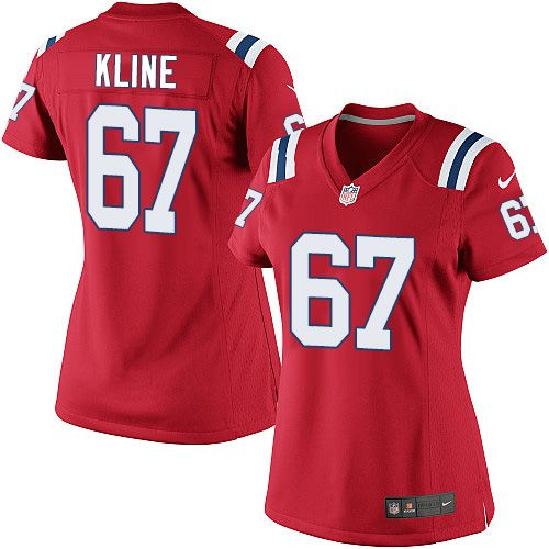 6f7a21004 ... Cheap NFL New England Patriots Josh Kline Womens Elite Alternate Red 67  Jersey http ...