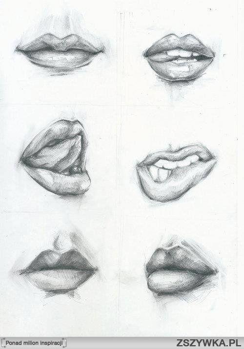 usta rysunek - Szukaj w Google