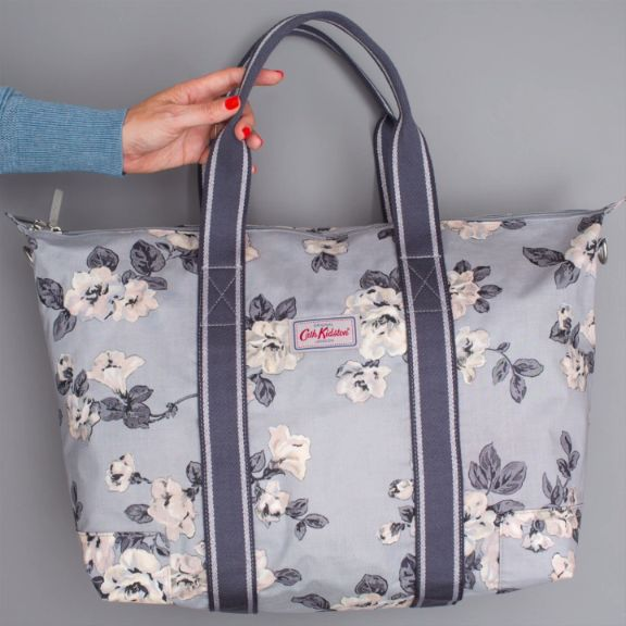 Are you tempted by our overnight bag, Tempting Slate? It's the latest bag from our new collection Colour by Cath Kidston.