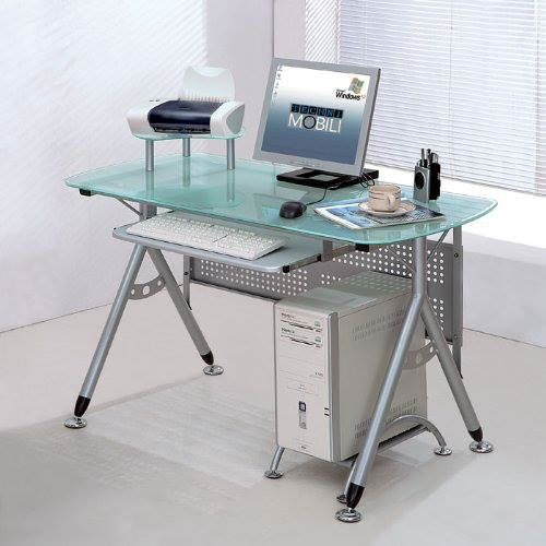 office white color inspiration modern style cheap modern computer desk design among glass table top decoration