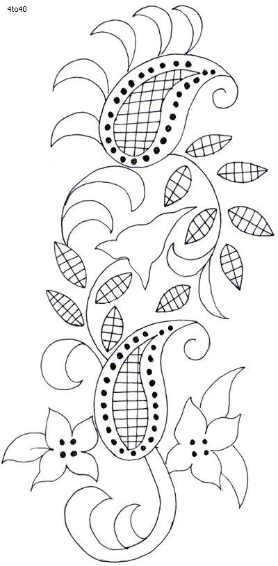 Sarika Agarwal Textile Pattern, Sarika Agarwal Textile Pattern 13, Indian Motifs Dynamic Textile Patterns, Textile Guide Madhya Pradesh India