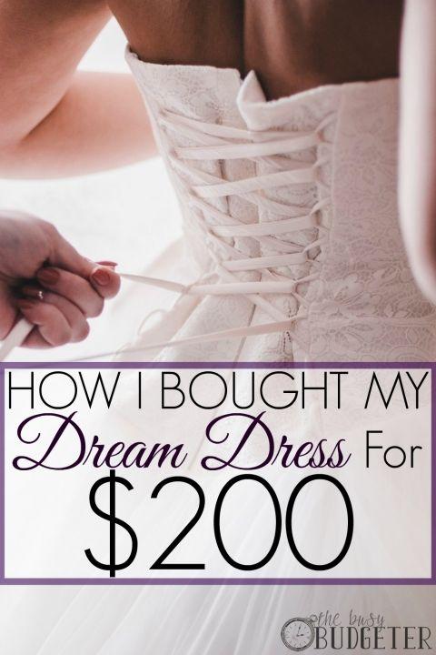 Where I found the Cheapest Wedding Dress
