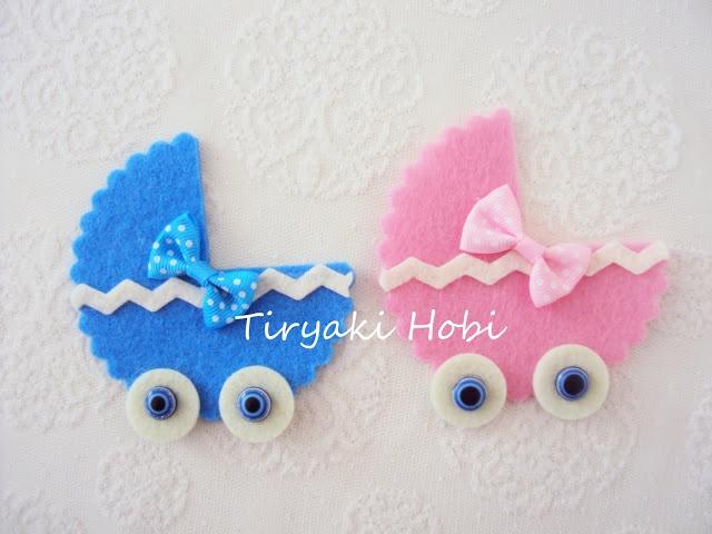 ! ✿ Tiryaki Hobi ✿ !: Keçe bebek şekeri / magnet - dolgusuz puset