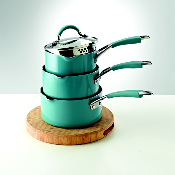 Prestige Inspire saucepan collection in teal - Great for injecting some colour into your cooking.
