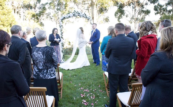 Wedding Ceremony. Wedding arch