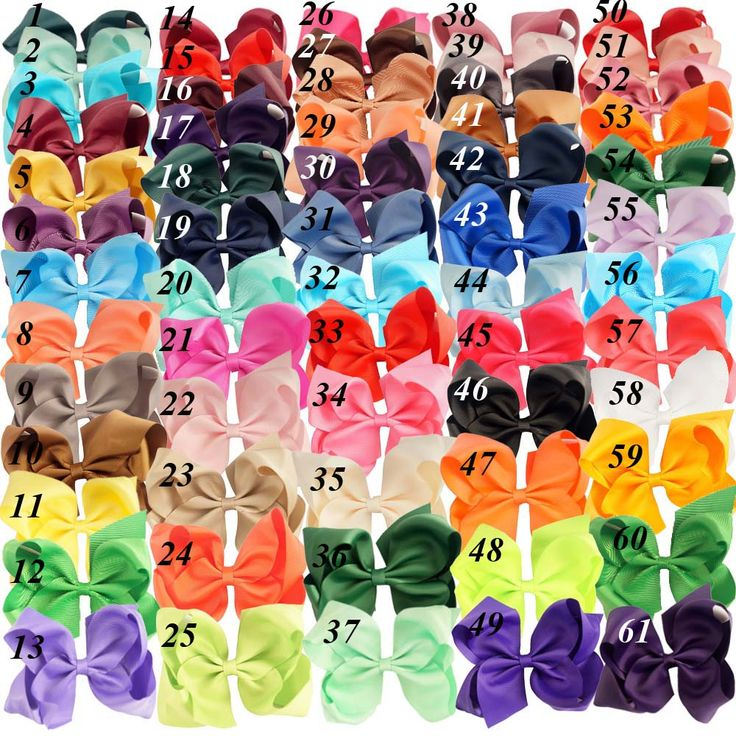 """32 Pcs/lot 6"""" Fashion Handmade Solid Grosgrain Ribbon Hair Bow For Kids Girls Toddler Boutique Hair Accessories Hairgrips"""