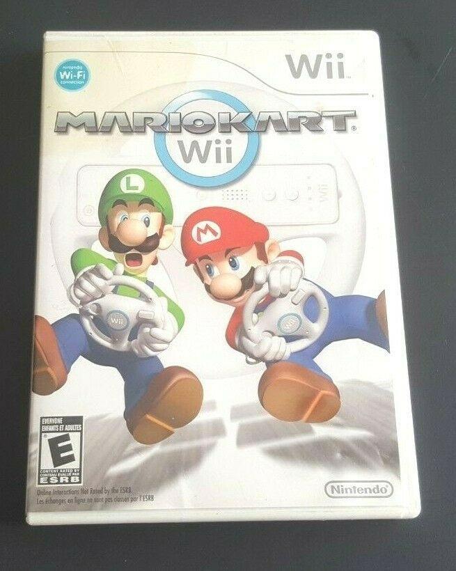 Nintendo Wii Complete Game Mario Kart Mariokart Wii Classic