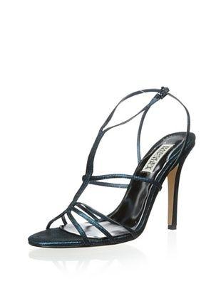 75% OFF Badgley Mischka Women's Vivian Sandal (Teal Metallic)