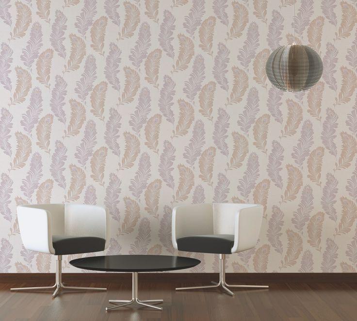 Die besten 25+ Federtapete Ideen auf Pinterest Feder muster - graue tapete wohnzimmerwohnzimmer fliesen beige matt