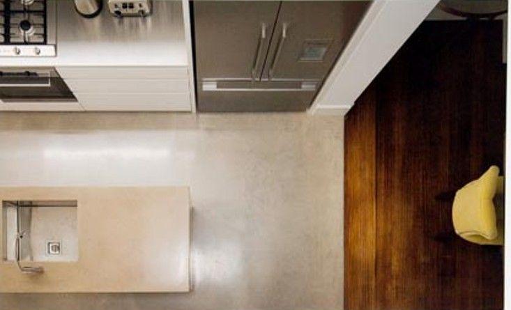 T01 Architecture - Projects - Paddington kitchen island bench kithcen sink silver fridge