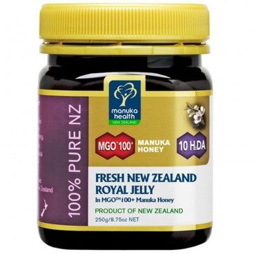Miel de Manuka Honey Mgo 100 Jalea Real 250 gramos