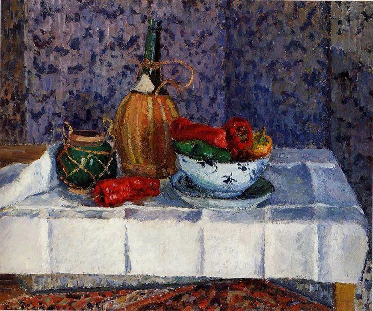 Still Life with Spanish Peppers. (1899). Камиль Писсарро