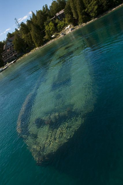 Tobermory, Ontario - the shipwreck capital of Canada To book go to www,notjusttravel.com/anglia