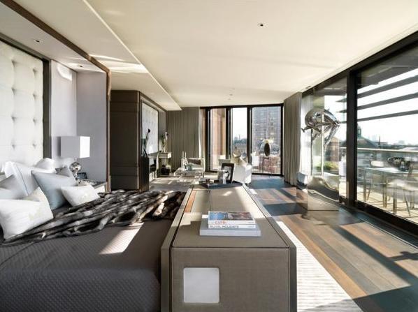 Suíte da Cobertura One Hyde Park Londres One Hyde Park: os apartamentos mais caros do mundo