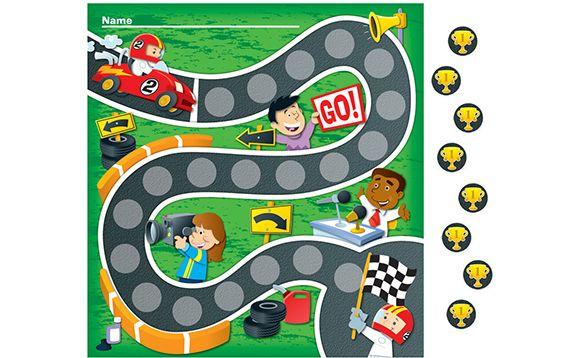 Tableaux de motivation miniatures - Course automobile - Brault et Bouthillier