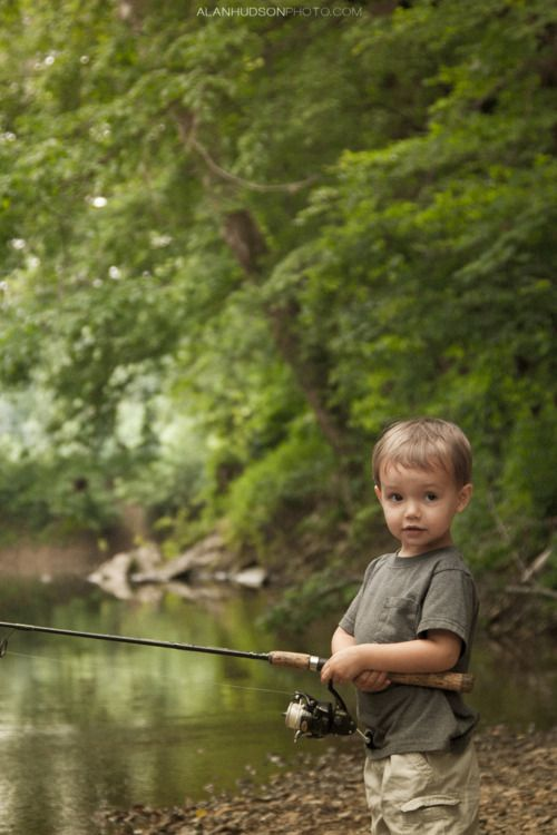 I'm gonna love taking my little boy fishing someday