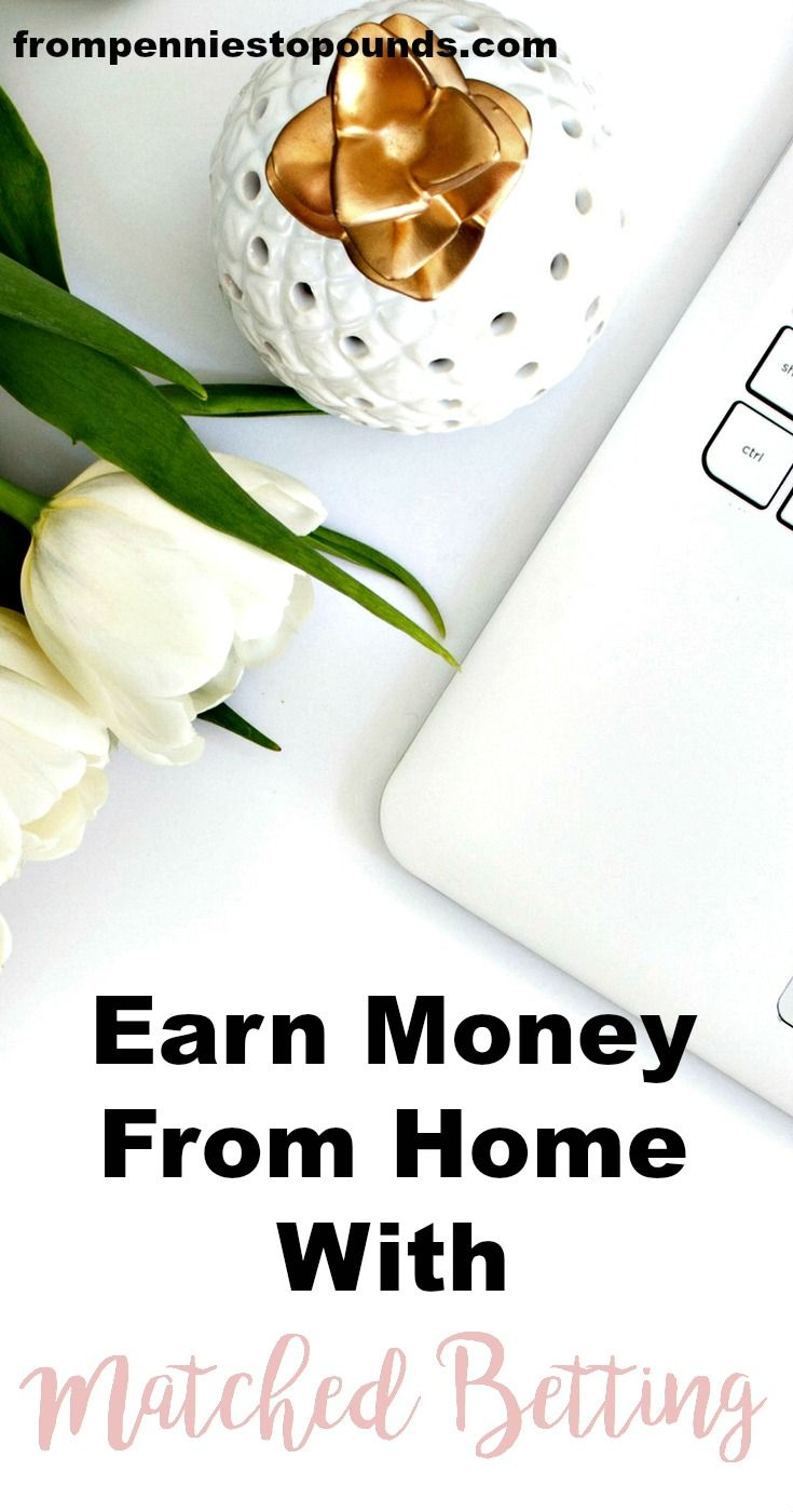 Want to earn extra money from home? Tons of people are doing matched betting - a little known but effective way to earn thousands per month from home. Try it now: http://www.frompenniestopounds.com/one-of-the-best-ways-to-make-extra-money-matched-betting/