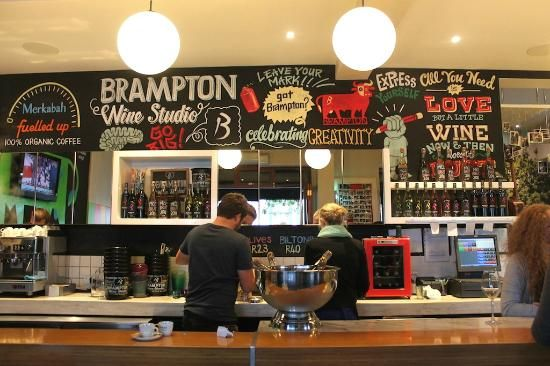 A must in Stellenbosch South Africa is the Brampton Studio. A great vibey wine studio for after work drinks or a evening with the girls