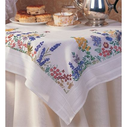 Spring Flowers Tablecloth - Fox Collection