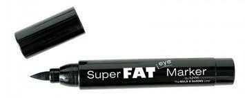 Cosmetice make-up NYX Super Fat Eye Marker  Pret special: 38,00RON    Comandati aici: http://www.makeupcenter.ro/super-marker-p-467.html