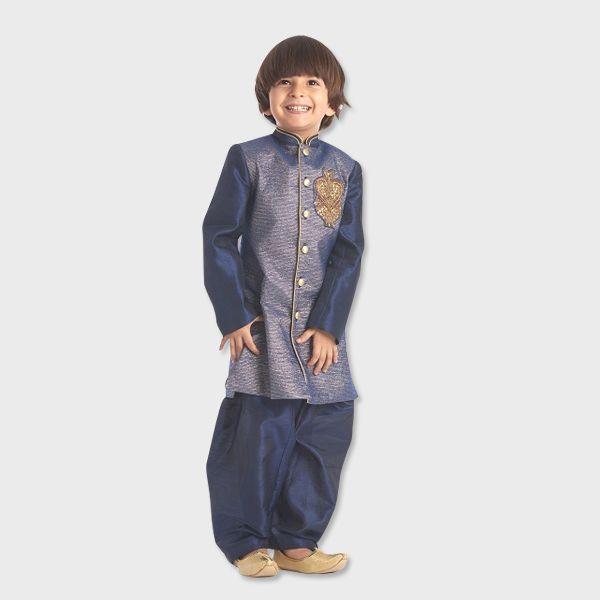 #Stylemylo #kidswear #kidsonlineshop #Onlineshopping #designerwear #indianwear #kidsfashion #kidsstyle #ethnickids #babiesclothes #pathani #kurtapajama  #sherwani #kidology