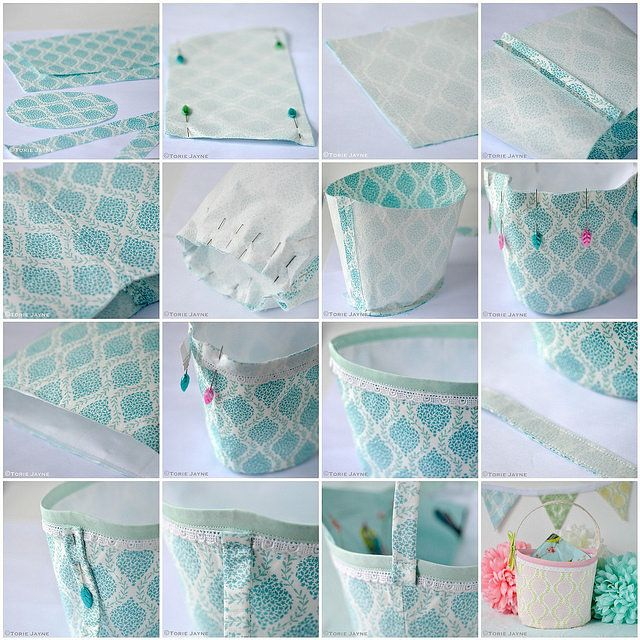 Easter basket sewing tutorial | Flickr - Photo Sharing!