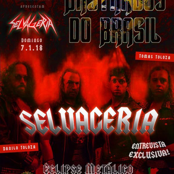 Starblind - Pride And Glory Starblind - The Shadow Out Of Time *****Bastardos Do Brasil Nº 6 – Selvageria****** Inclui Entrevista Exclusiva Selvageria - A Maldição Selvageria - Ataque Selvagem Selvageria - Legião Invencível *****Bastardos Do Brasil Nº 6 – Selvageria [FIM]******