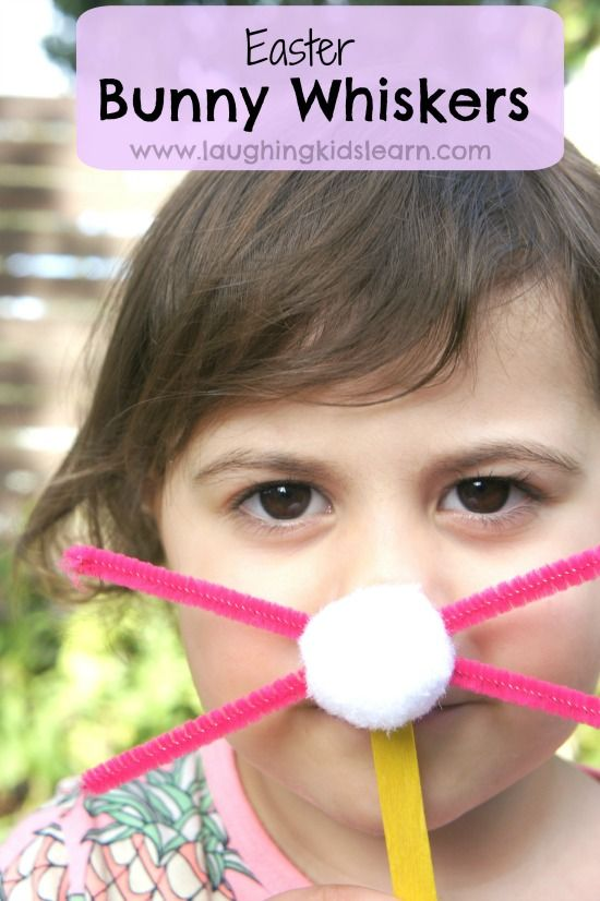 Easter bunny whiskers - Laughing Kids Learn