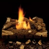 Mountain Oak Vent-Free Log Set | WoodlandDirect.com: Fireplace Accessories, Gas Logs, Ventless Gas Logs, Log Sets - Gas