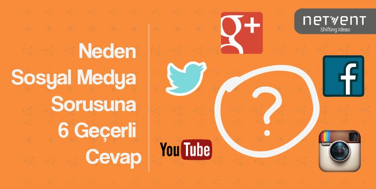 """Neden Sosyal Medya Sorusuna 6 Geçerli Cevap"" http://hubs.ly/y0xWNg0 by netventIDEAS #sosyalmedya #socialmedia"