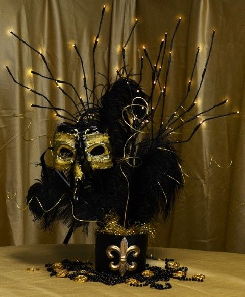 Masquerade Party Ideas...not sure if I would ever use this but thought it was really cool
