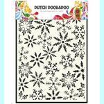 Dutch Doobadoo  Template - Ice star