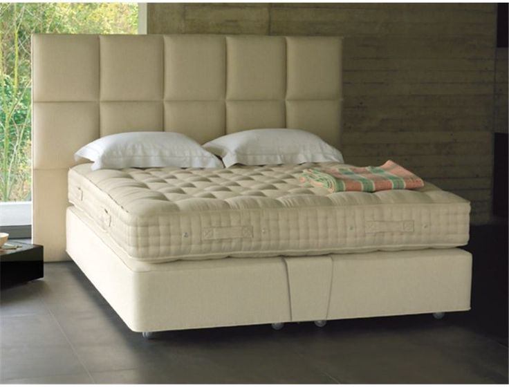 Vispring Marquess Superb Mattress  The Vispring Marquess Superb has an extravagant layer of Tussah silk nestle two layers of honeycomb-nested Vi-Spring four-coil springs and generous real Shetland Isle fleece wool and cotton upholstery.