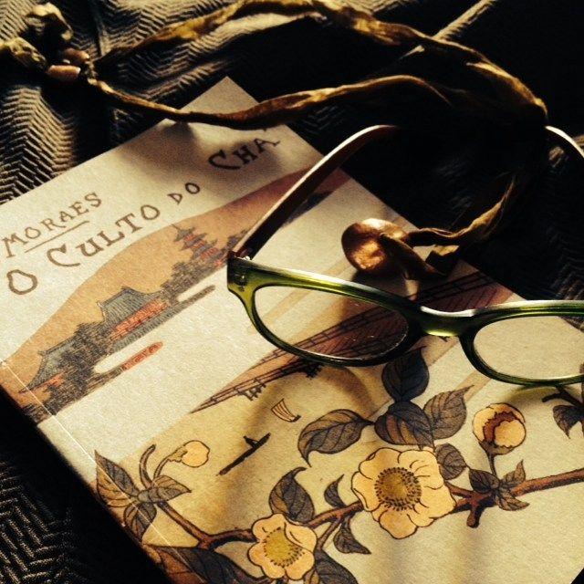O Culto do Chá l Wenceslau de Morais#book #dazulterra #lourézio #tea #atmospheare #portugal