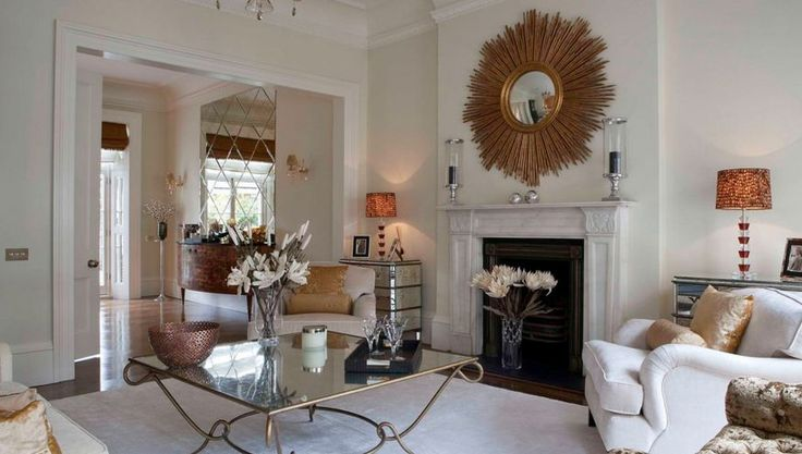 How to decorate with mirrored furniture