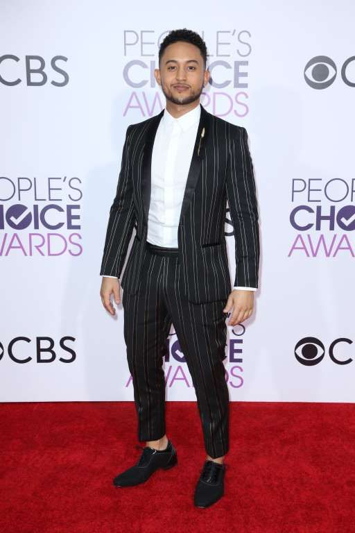2017 People's Choice Awards:    Tahj Mowry attends the People's Choice Awards at the Microsoft Theater in Los Angeles on Jan. 18, 2017.