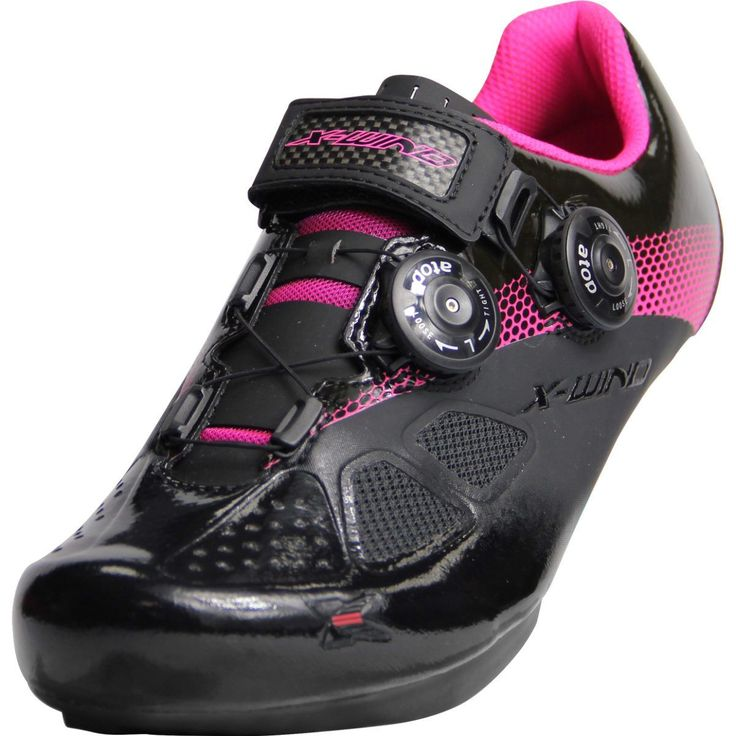 X-WIND EXPERT ROAD CYCLING SHOES | BLACK-PINK – X-WIND CYCLING SHOES