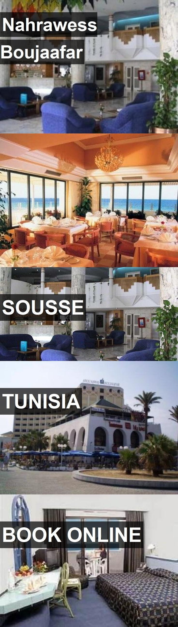 Hotel Nahrawess Boujaafar in Sousse, Tunisia. For more information, photos, reviews and best prices please follow the link. #Tunisia #Sousse #travel #vacation #hotel