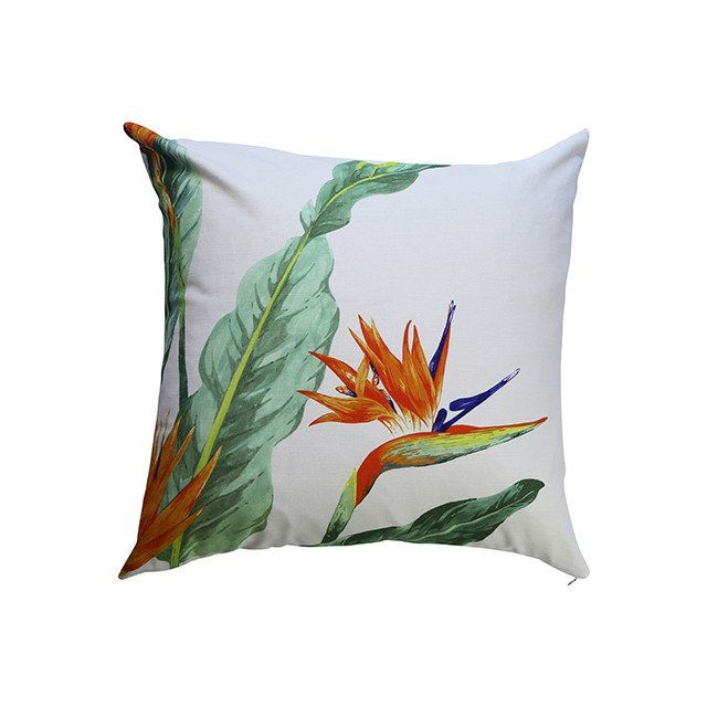 STRELITZIA (green) - Cushion