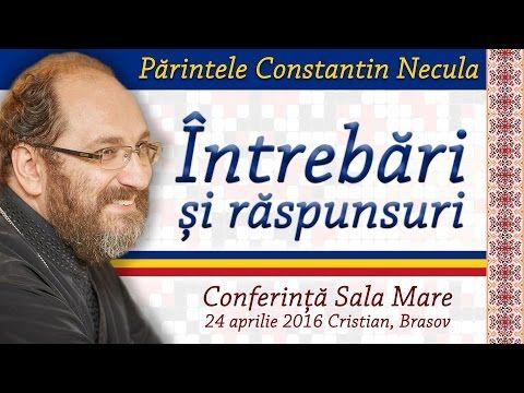Pr. Constantin Necula - Intrebari si raspunsuri - YouTube
