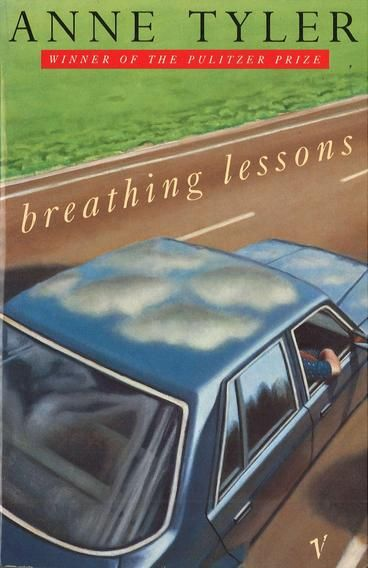 Breathing Lessons by Anne Tyler.  Breathing Lessons covers the events of a day in the life of Maggie Moran, nearing fifty, married to Ira and with two children. Her eternal optimism and her inexhaustible passion for sorting out other people's lives and willing them to fall in love is severely tested one hot summer day. Maggie and Ira drive from Baltimore to Deer Lick to attend the funeral of the husband of Serena, Maggie's childhood friend.