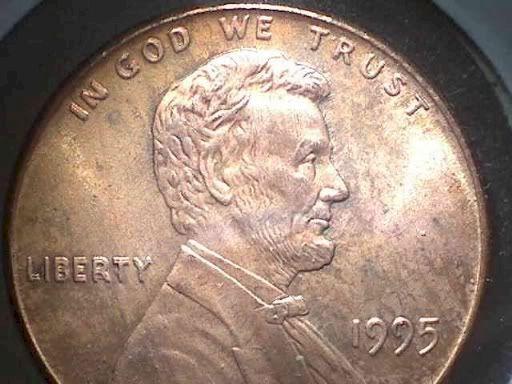 3. 1995 Double-Die Penny