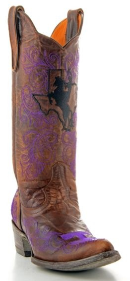 Tarleton State University Gameday Cowgirl Boots - Pointed Toe - Sheplers