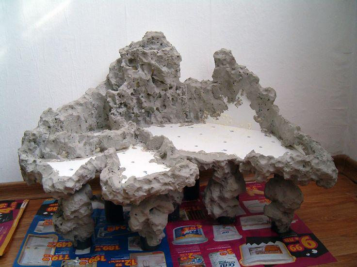 Paludarium 120L с водопадом - палюдариумах - водной фауны Центральной