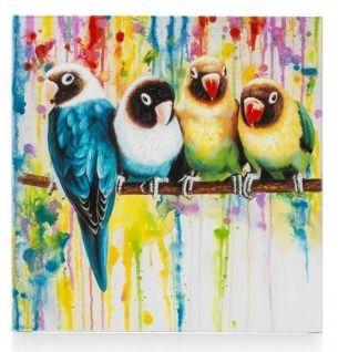 Schilderij Parrot friends shop je online zonder verzendkosten bij deleukstemeubels.nl