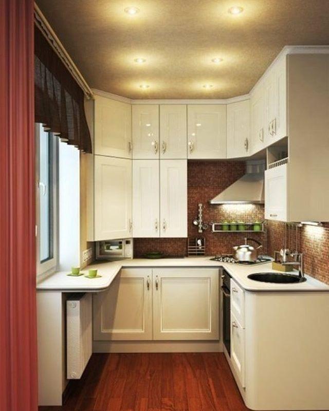 #маленькая #современная #кухня