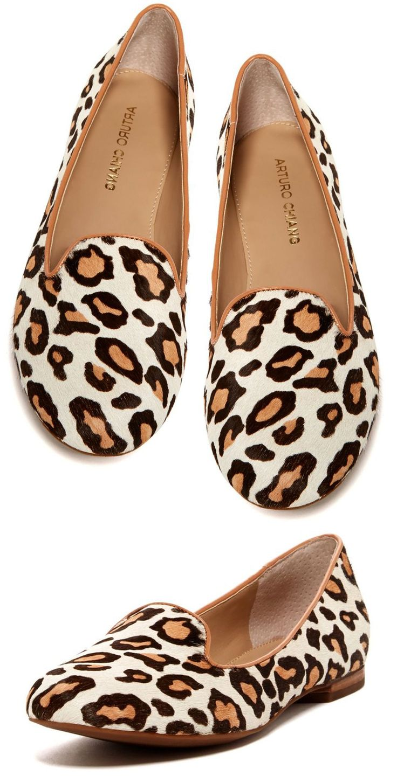 Beatrixx Leopard Loafers / Arturo Chiang