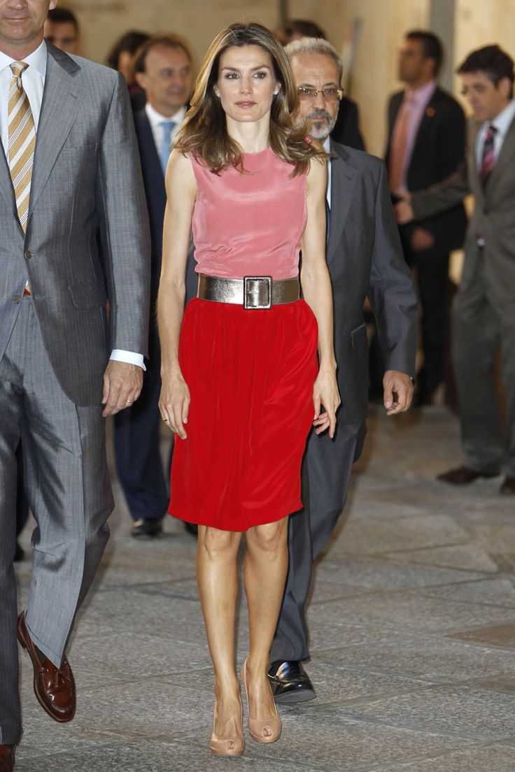 Princess Letizia From Spain, great style.