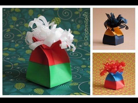 ORIGAMI SPIRIT Layla Torres | Origami Twist Box | Instructions: http://www.origamispirit.com/2011/10/festive-origami-twist-box/