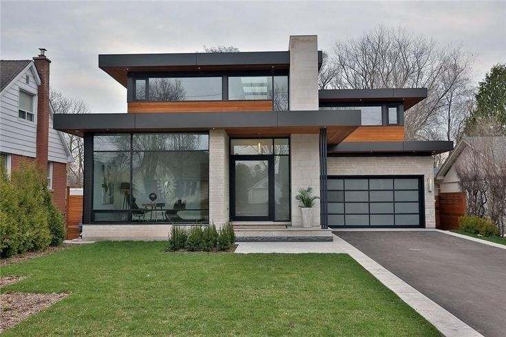 34 Modern Style House Design Ideas Inspiration Pictures To Inspire You 17 Facade House Minimalist House Design Modern House Exterior